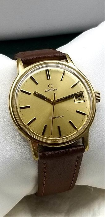 """Omega - Geneve - """"NO RESERVE PRICE"""" - Homme - 1970-1979"""