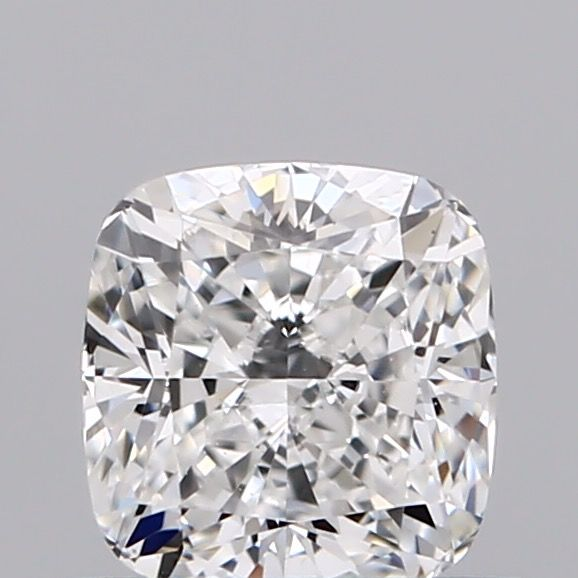 1 pcs Diamond - 0.55 ct - Cushion - E - VVS2, EXEX