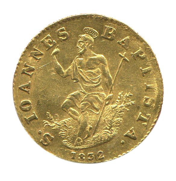 Italy - Grand Duchy of Tuscany - Zecchino 1832 - Florence Leopold II - Gold