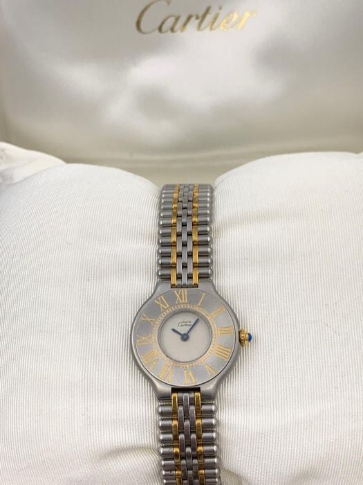 Cartier - Must de Cartier 21 Gold Steel  - 1330 - Women - 2000-2010