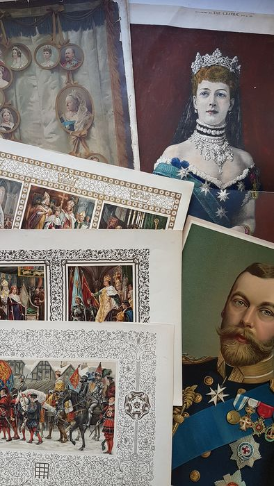 After Alexander Bassano - British Royals Magazines and Images - Paper