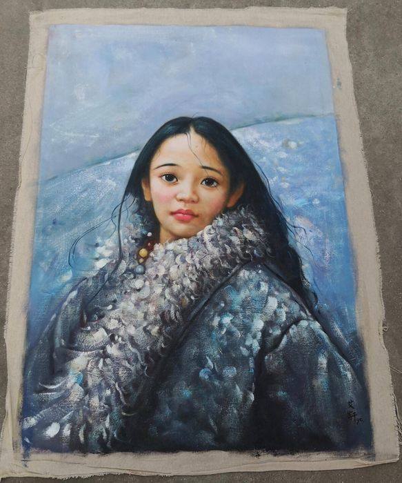 Oil Painting Canvas Paper China 21st Century Catawiki