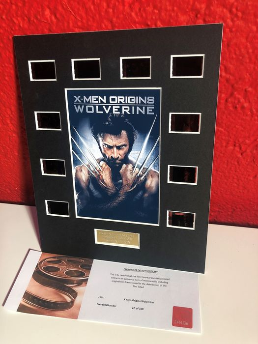 - X-Men Origins: Wolverine - Original Film / Movie Cell Display