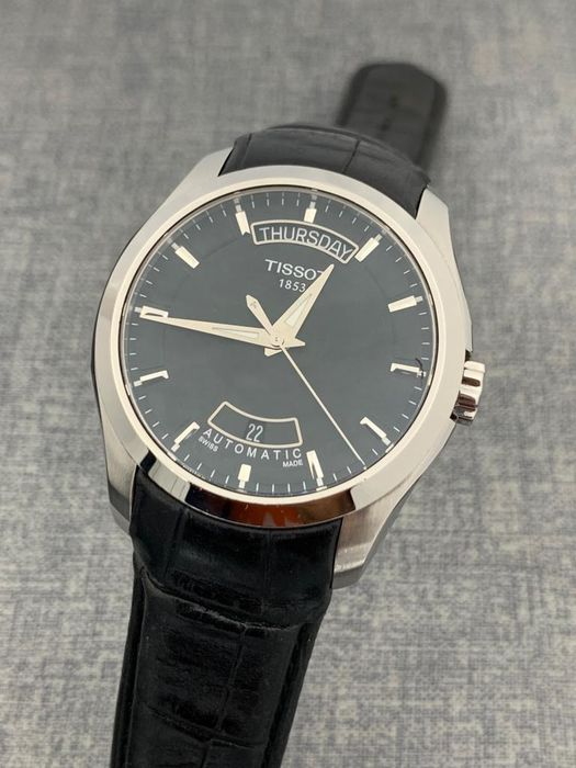 Tissot - Couturier Day Date Automatic  - T035.407.16.051.00 - Homem - 2011-presente