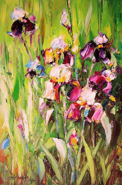 Małgorzata Stefaniak - Beautiful Irises
