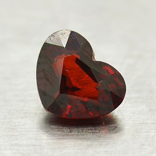 Red, * No Reserve Price * Garnet - 1.54 ct