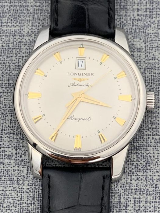 Longines - Conquest Heritage Automatic  - L1.645.4.75.4 - Herre - 2011-nå