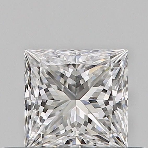 1 pcs Diamante - 0.31 ct - Princesa - E - VVS2, ***no reserve***