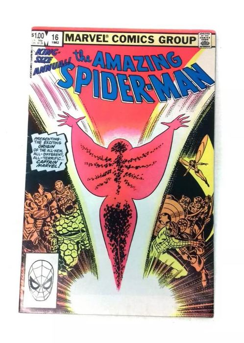 Spider-Man 16 - 1st Appearance Of Captain Marvel M.Rambeau - Softcover - First edition - (1982)
