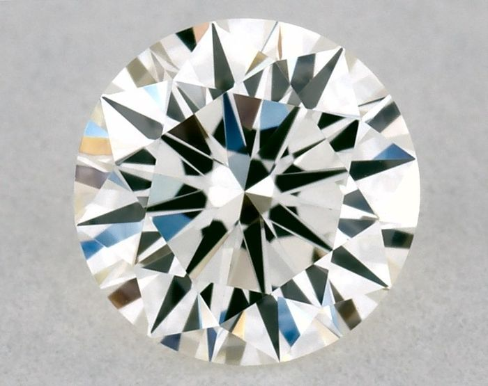 1 pcs Diamant - 0.32 ct - Brillant, Rond - H - VVS2, ** 3EX - Low Reserve Price **