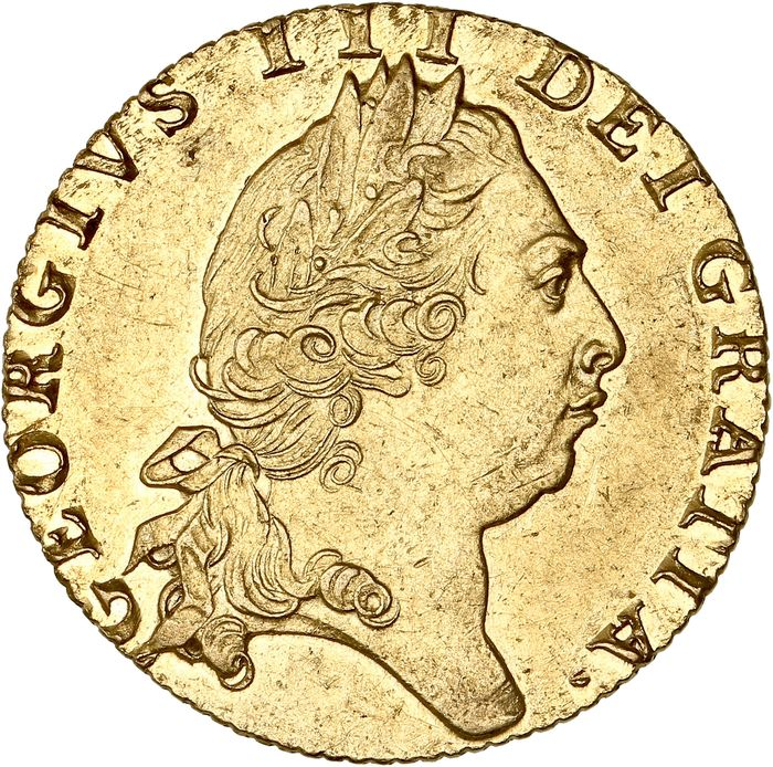Great Britain - Guinée 1798 - Georges III - Gold