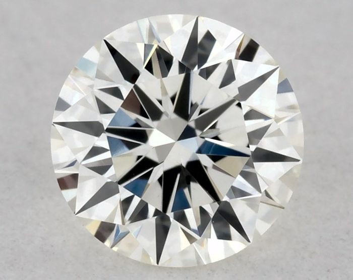 1 pcs Diamante - 0.30 ct - Redondo - H - VVS2, IGI - 3EX - Low Reserve Price