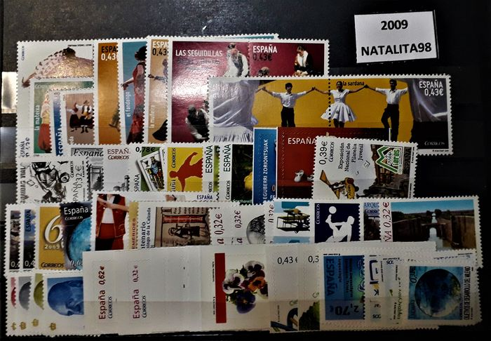 Spain 2009 - Complete year