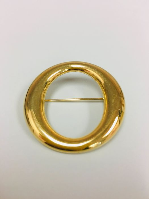 18 kt. Yellow gold - Brooch Tiffany and Co Brooch