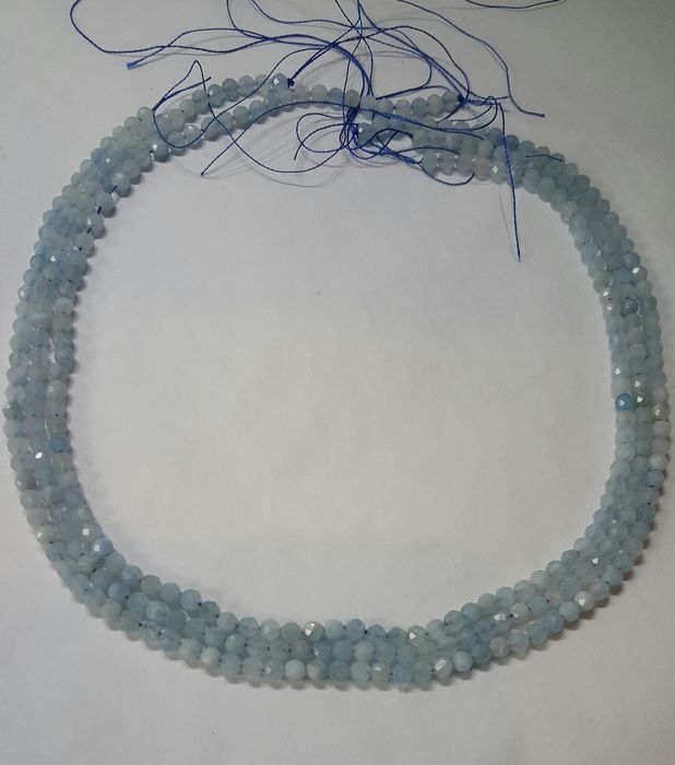 294 pcs Blue Aquamarine - 145.00 ct