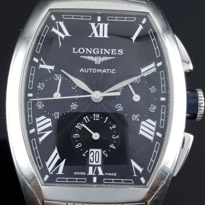 Longines - Evidenza Chronograph Automatic - L2.643.4 - Heren - 2011-heden