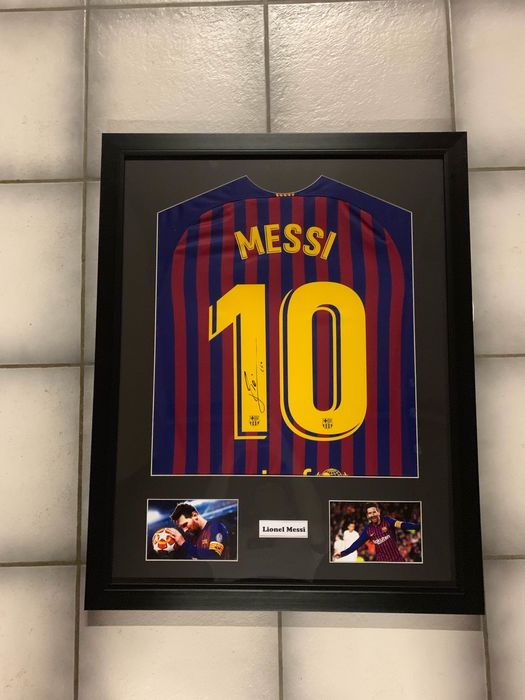 FC Barcelona - Spanish Football League - Lionel Messi - 2019 - Jersey