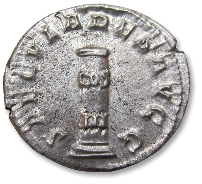 Roman Empire - AR antoninianus, Philip I 'the Arab' - near mint state coin - Rome mint 248 A.D. - celebrating 1000 years Rome - Silver