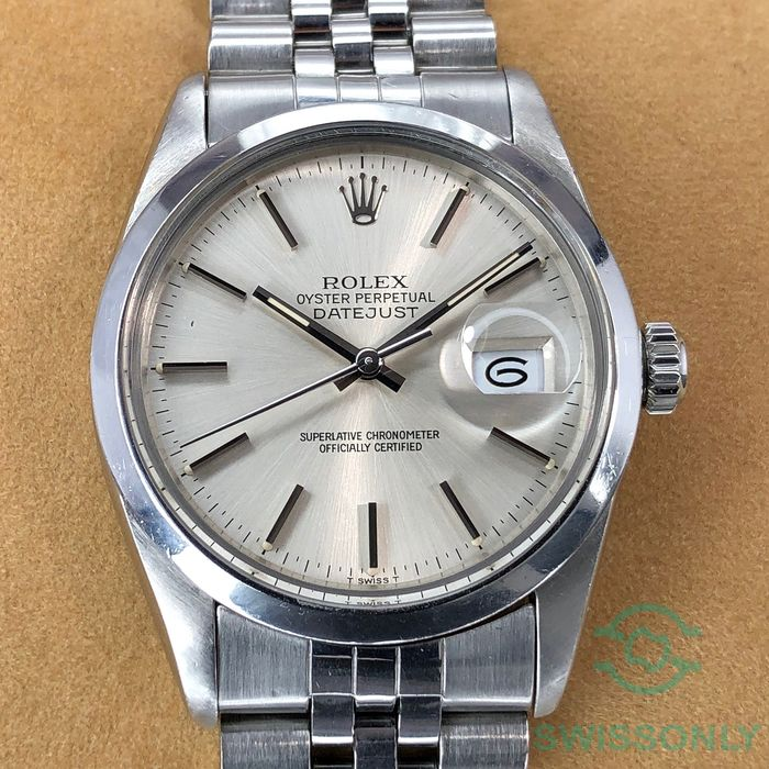 Rolex - Datejust - 16000 - Men - 1980-1989