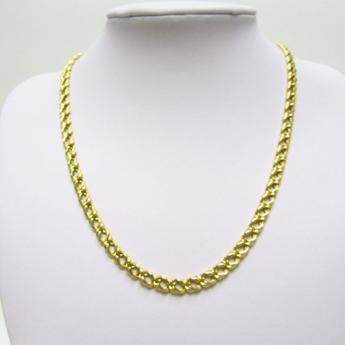 18 kt. Yellow gold - Necklace. 47 cm 15.40 gr.