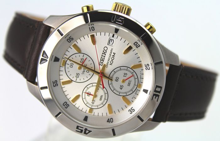 "Seiko - ""NO RESERVE PRICE""  - Chronograph - Men - 2011-present"