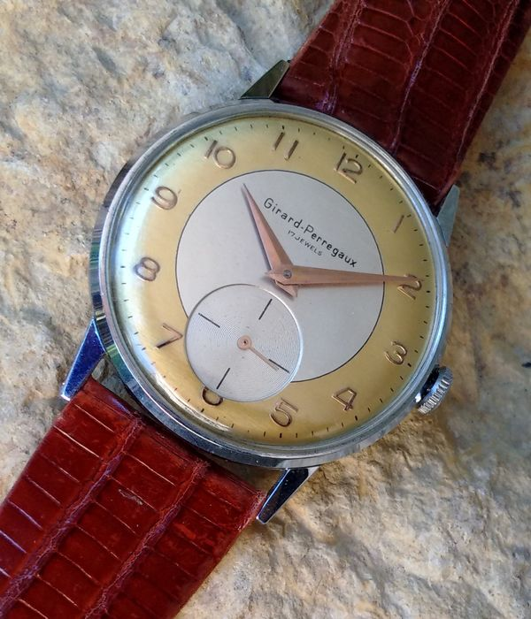 Girard-Perregaux - Swiss made-NO RESERVE PRICE - Bărbați - 1950-1959
