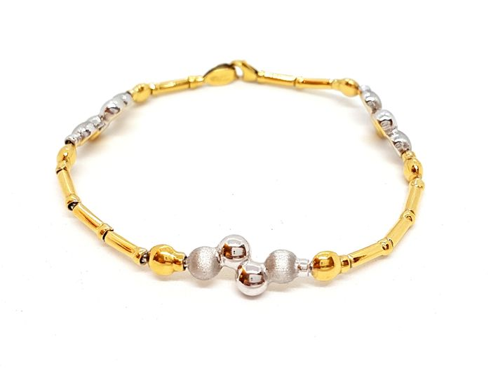 18 kts. Yellow gold - Bracelet