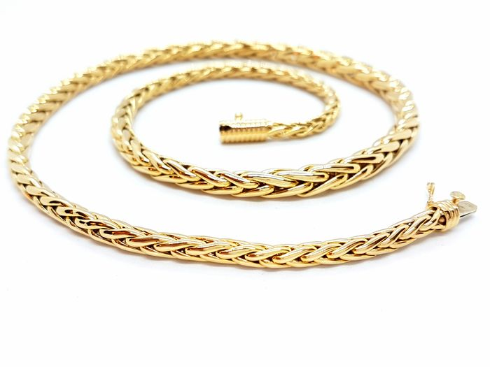 18 kt Yellow gold - Choker necklace