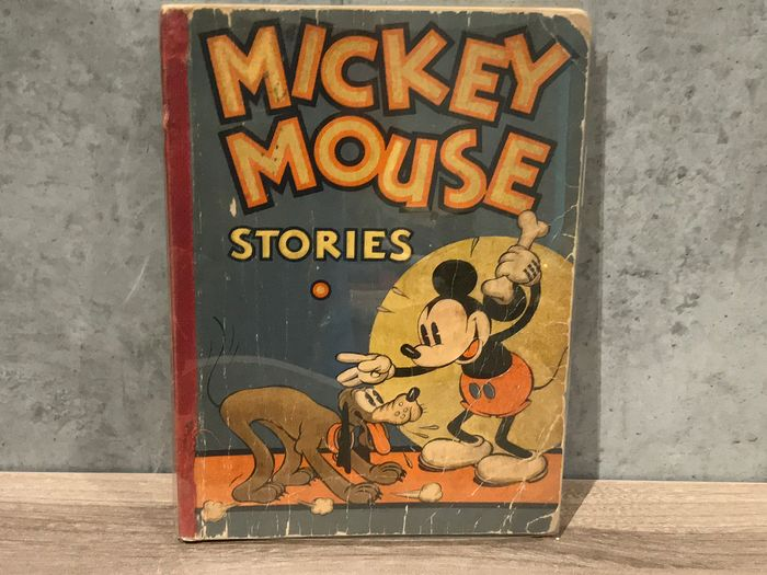Disney - Mickey Mouse Stories - Book 2 - Softcover - First edition - (1934)