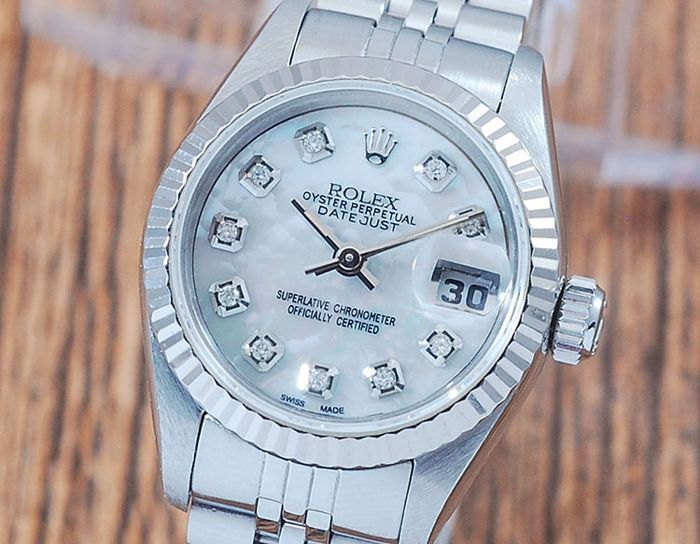 Rolex - Oyster Perpetual DateJust  - 69174 - Mujer - 1990-1999