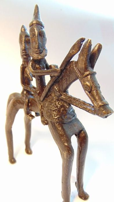 Sculpture  - African bronze - Dogon - Mali