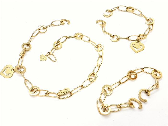 O.J. Perrin - 18 kts. Yellow gold - Necklace