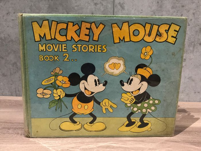 Disney - Mickey Mouse Movie Stories Book 2 - Hardcover - First edition - (1934)