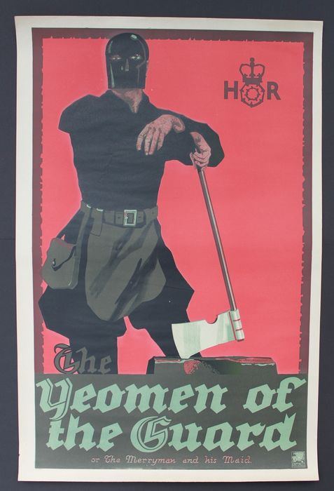 Stafford & Co. - 'Yeomen of the Guard' - The Executioner' of the Merryman and his Maid - 1920s