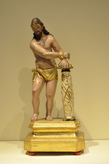 Escuela Valenciana - Sculpture - Neoclassical - Carved and polychrome wood - Late 18th century