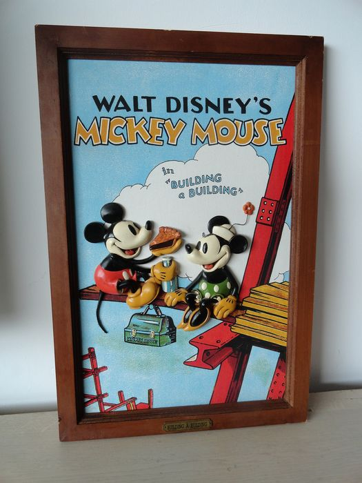 Mickey en Minnie Mouse - Mickey Mouse - 3D - Building a Building - First edition - (2001/2001)