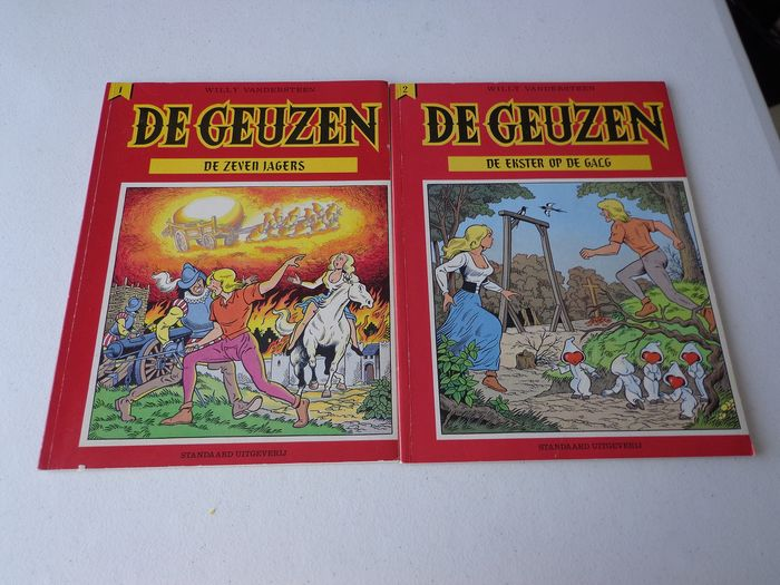De Geuzen 1 t/m 10 - Complete serie - Softcover - First edition - (1985/1990)