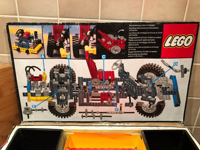 Lego Technic 8860 Car Car Chassis 1980 1989