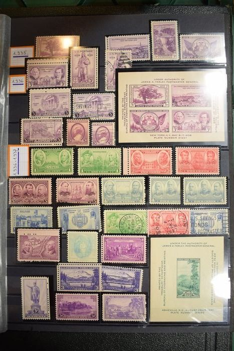 Verenigde Staten 1940/1980 - Extensive collection semi-modern to modern including 159 First Day Issues