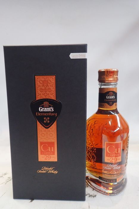 Grant's 29 years old Elementary Cu Copper - Limited Batch Release No. 16/0253 - b. 2016 - 70cl