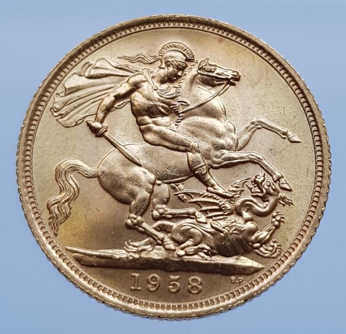 United Kingdom - Sovereign 1958 Elizabeth II - Gold