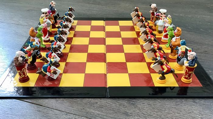 Chess game - 3D Chess Game Muppets - Kermit Collection