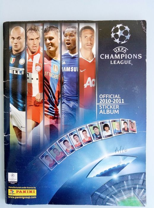 Panini - Komplet album Champions League 2010/11
