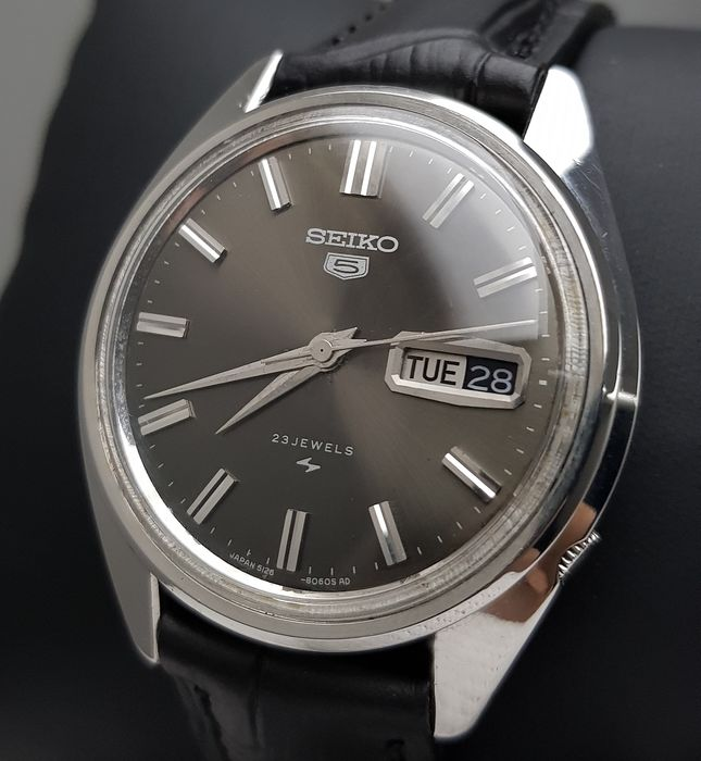 Seiko - 'NO RESERVE PRICE' 5 Hi-Beat Automatic Black Vintage Men - 5126-8060 - Men - 1960-1969