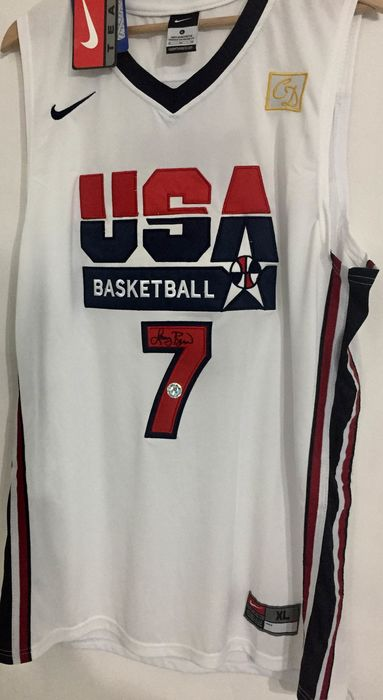 top fashion 712ed a33ae USA Dream Team - Olympic Games - Larry Bird - 1992 ...