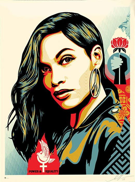 Shepard Fairey (OBEY) - 'Power & Equality' (Dove)