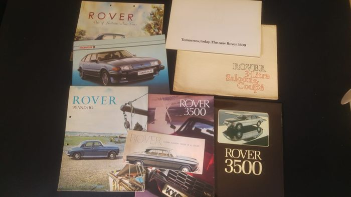 Brochures / catalogues - Rover various brochures - 1965-1977