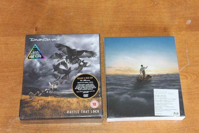 Pink Floyd & Related - Multiple artists - Rattle That Lock - The Endless River - Multiple titles - CD Box set, DVD, Official merchandise memorabilia item, Blu-Ray   - 2014/2015
