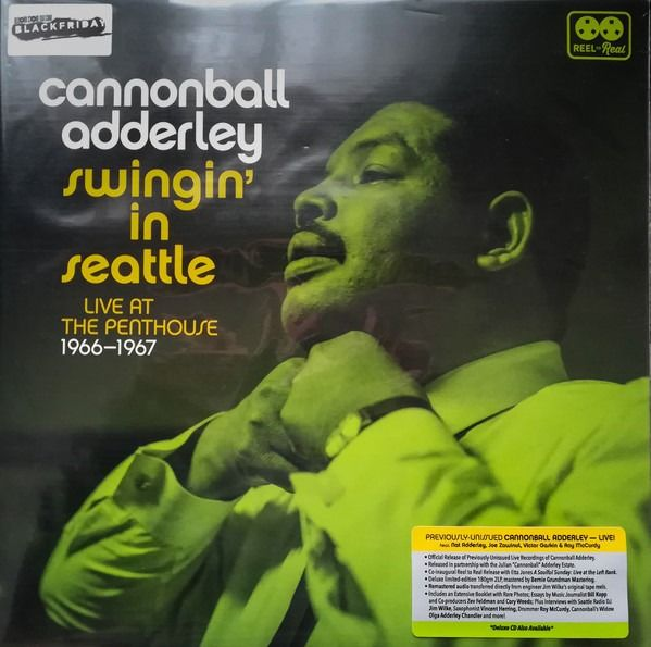 Cannonball Adderley - Swingin' In Seattle: Live At The Penthouse (1966-1967) || M&S || RSD 2018 - LP Album, LP's - 2018