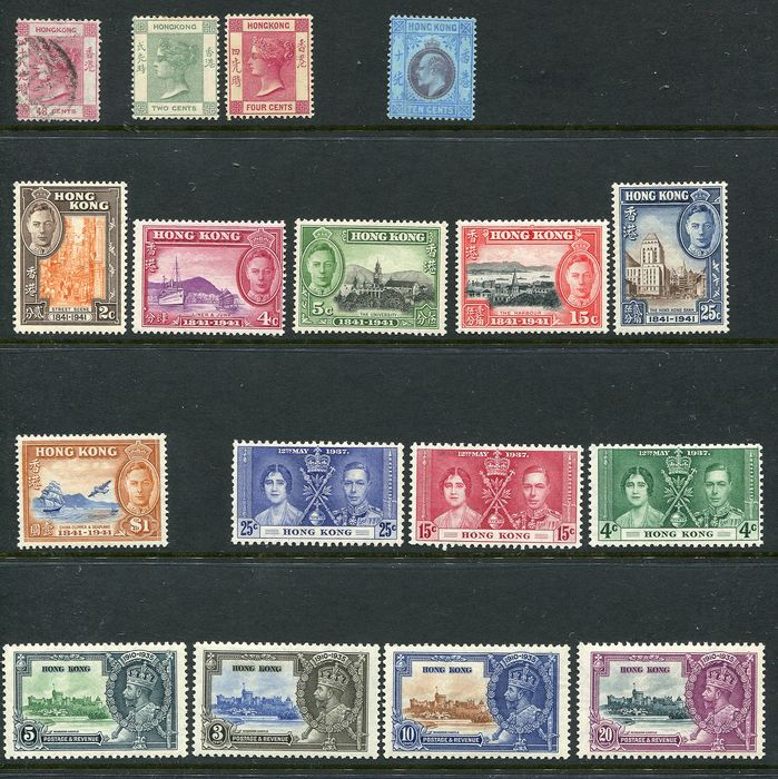 Hong Kong 1863/1998 - Extensive collection starting with classics until modern with many minisheets and extra's